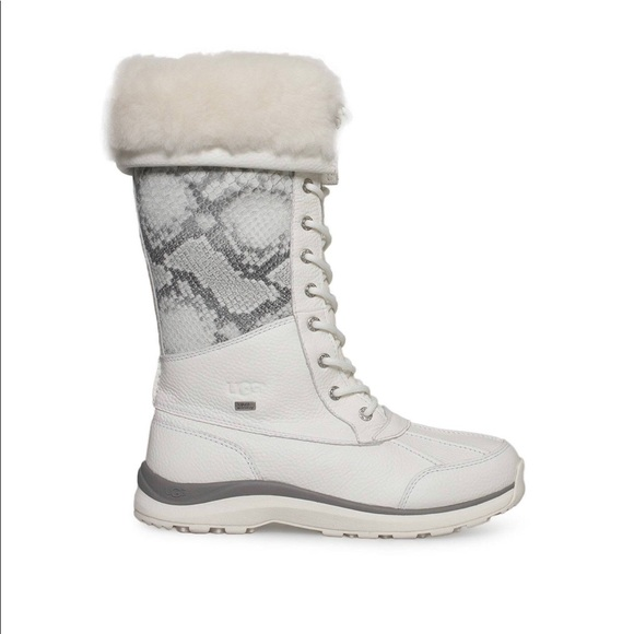 df5cad72fc3 UGG Adirondack white tall boots 10 new